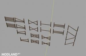 Wooden fences v 1.0